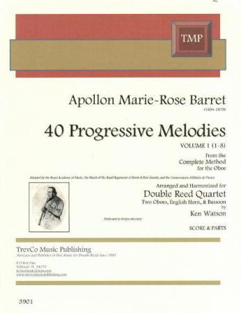 40 PROGRESSIVE MELODIES Volume 1