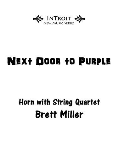 NEXT DOOR TO PURPLE