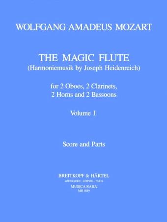 THE MAGIC FLUTE Harmoniemusik Volume 1 (score & parts)