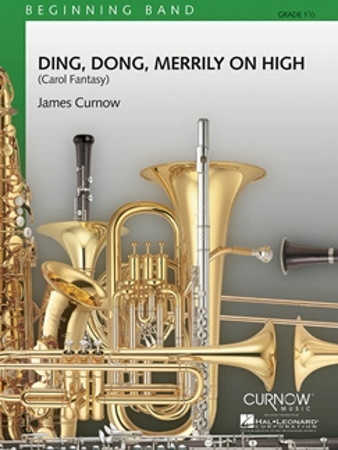 DING DONG, MERRILY ON HIGH (score & parts)