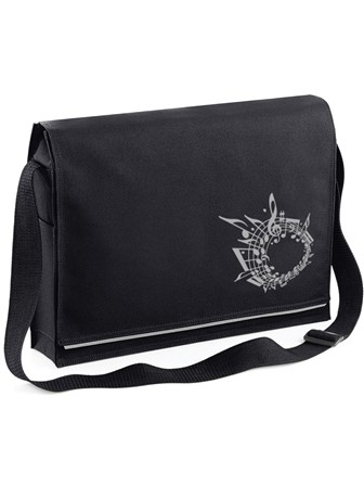 MESSENGER BAG Music (Black)
