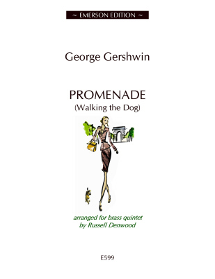 PROMENADE (Walking the Dog) score & parts