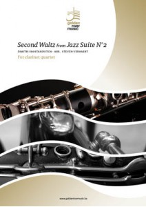 WALTZ No.2 from Jazz Suite No.2 (score & parts)