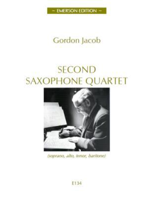 SECOND SAXOPHONE QUARTET score & parts
