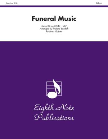 FUNERAL MUSIC score & parts