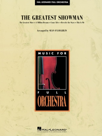 THE GREATEST SHOWMAN (score & parts)