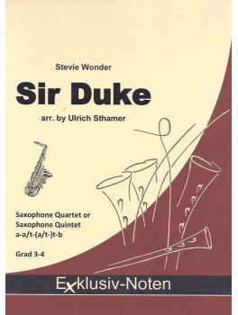 SIR DUKE (score & parts)