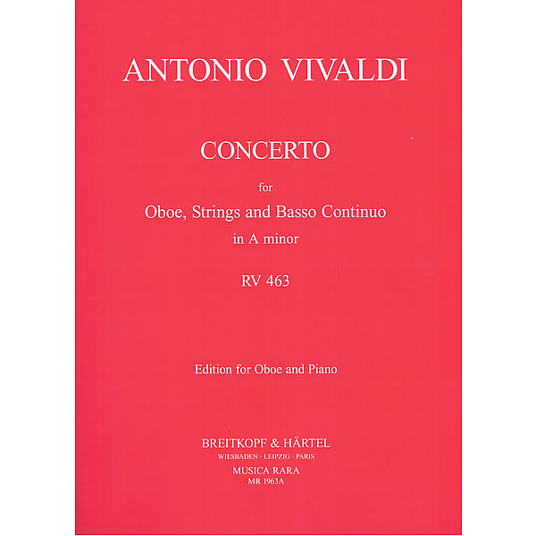 CONCERTO in A minor FVII/13 PV89 RV463