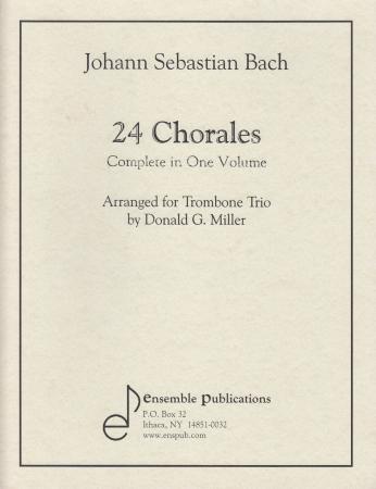 24 CHORALES (score & parts)