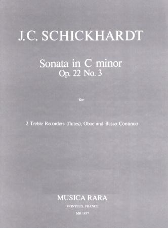 SONATA Op.22 No.3 in C minor