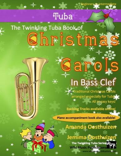 THE TWINKLING TUBA BOOK of Christmas Carols (bass clef)