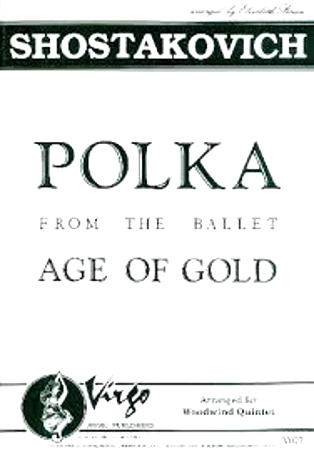 POLKA from The Age of Gold (score & parts)