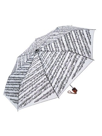 MINI TRAVEL UMBRELLA Sheet Music (White)