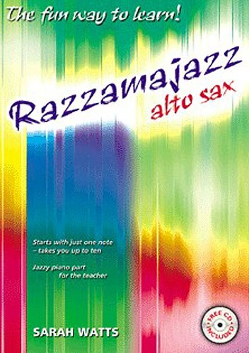 RAZZAMAJAZZ Alto Sax Book 1 + CD