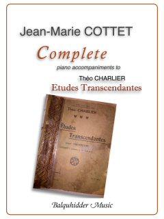 CHARLIER ETUDES TRANSCENDANTES Complete Piano Accompaniments
