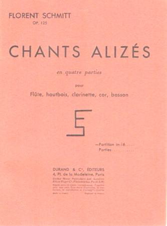 CHANTS ALIZES Op.125 set of parts