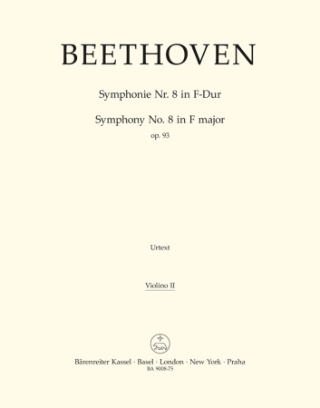 Symphony No.8 - Violin 2