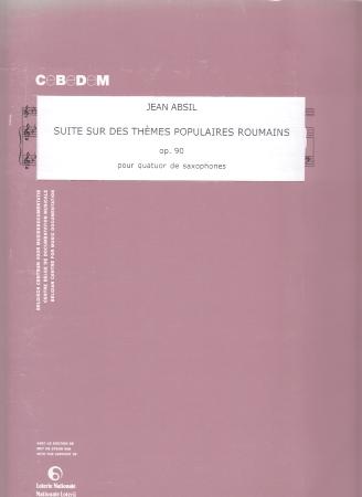 SUITE SUR LES THEMES POPULAIRES ROUMAINS Op.90