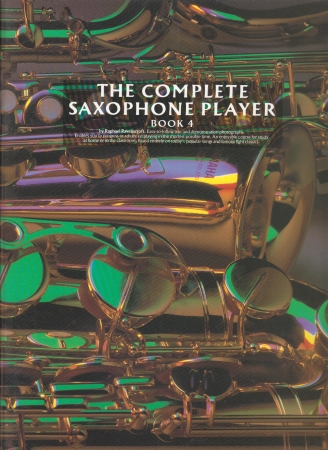 THE COMPLETE SAXOPHONE PLAYER Book 4