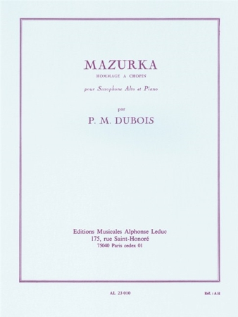 MAZURKA Hommage a Chopin