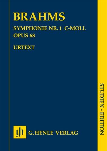 SYMPHONY No.1 in C minor Op.68 (study score)