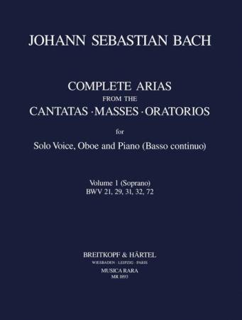 COMPLETE ARIAS & SINFONIAS Oboe: Volume 1