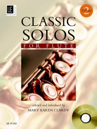 CLASSIC SOLOS FOR FLUTE Volume 2 + CD