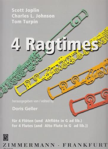 FOUR RAGTIMES Joplin, Johnson & Turpin
