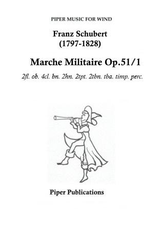 MARCHE MILITAIRE Op.51/1
