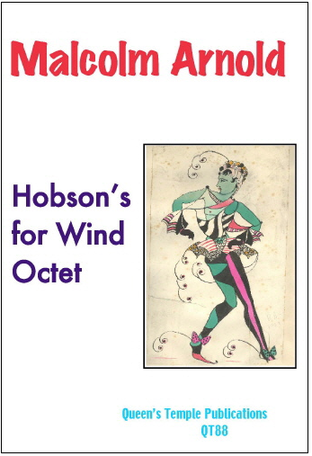 HOBSON'S FOR WIND OCTET (score & parts)