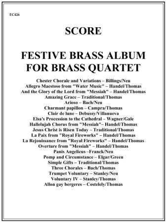 FESTIVE BRASS ALBUM Score
