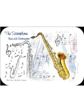 PLACEMATS Saxophone (Pack of 4)