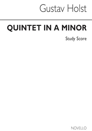 QUINTET in A minor (study score)