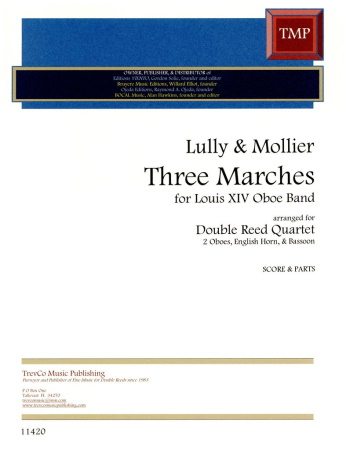 3 FRENCH MARCHES (score & parts)