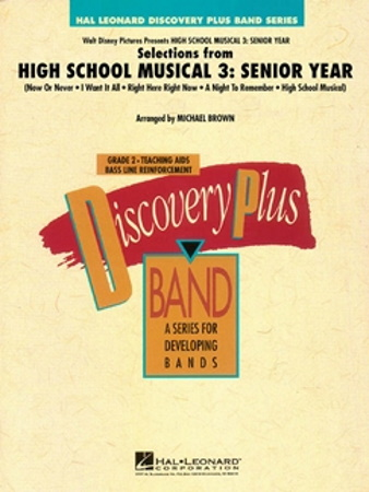 SELECTIONS FROM HIGH SCHOOL MUSICAL 3: SENIOR YEAR (score)