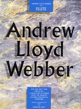 ANDREW LLOYD WEBBER FOR FLUTE with chord symbols
