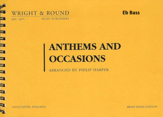 ANTHEMS AND OCCASIONS Eb bass