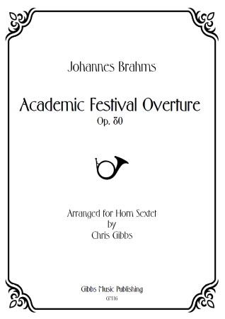 ACADEMIC FESTIVAL OVERTURE Op.80 (score & parts)