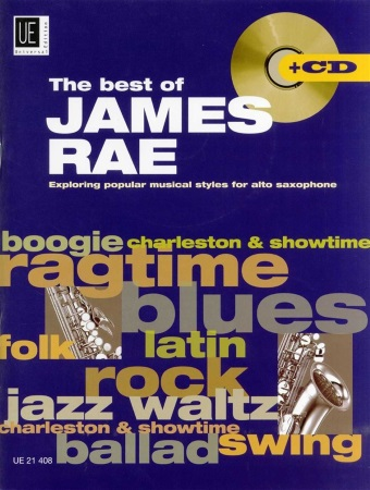 THE BEST OF JAMES RAE + CD