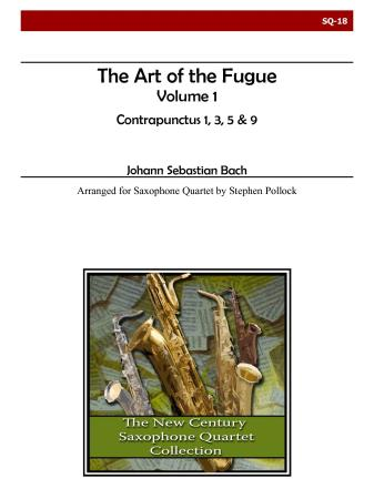 THE ART OF THE FUGUE Volume 1