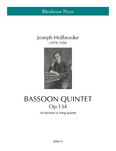BASSOON QUINTET Op.134 (score & parts)