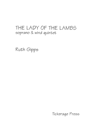 THE LADY OF THE LAMBS Op.79 (score & parts)