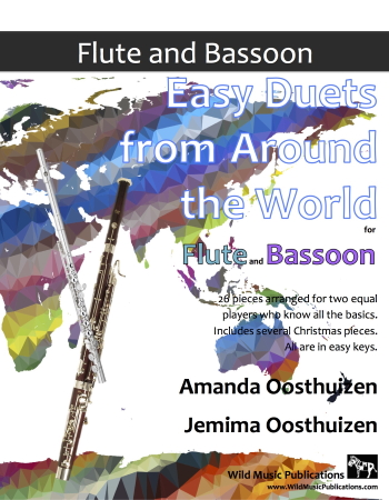 EASY DUETS FROM AROUND THE WORLD for Flute & Bassoon