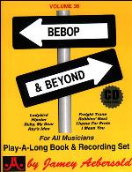 BEBOP AND BEYOND Volume 36 + CD