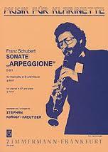 SONATA in g minor 'Arpeggione' D821