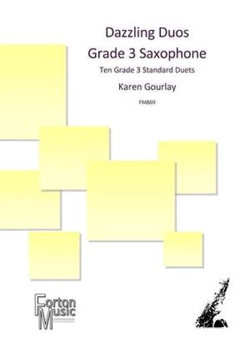 DAZZLING DUOS Grade 3 Saxophone