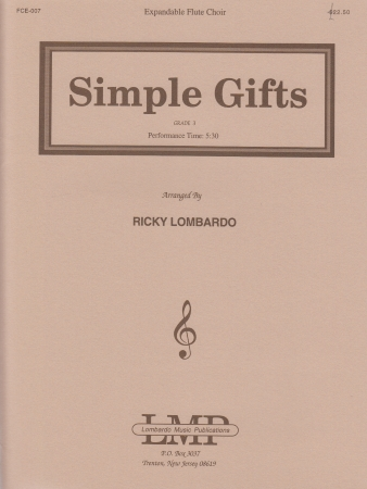 SIMPLE GIFTS score & parts