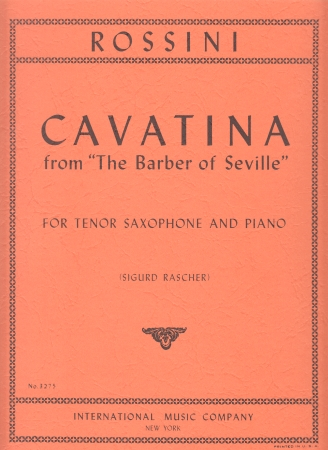 CAVATINA from 'The Barber of Seville'