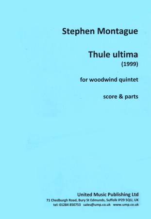 THULE ULTIMA (score & parts)