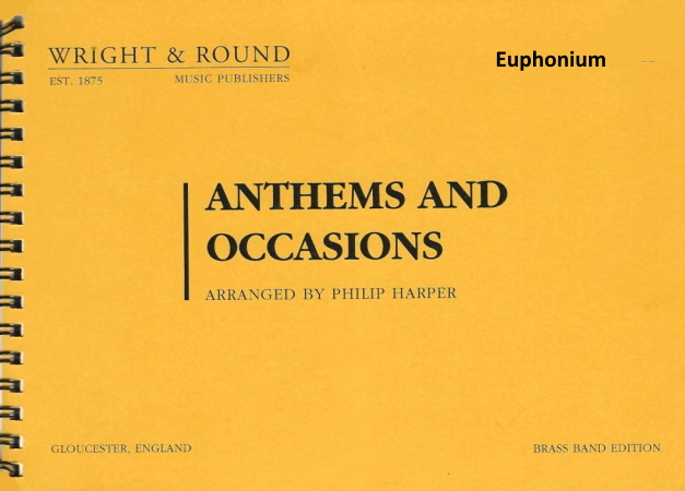 ANTHEMS AND OCCASIONS euphonium